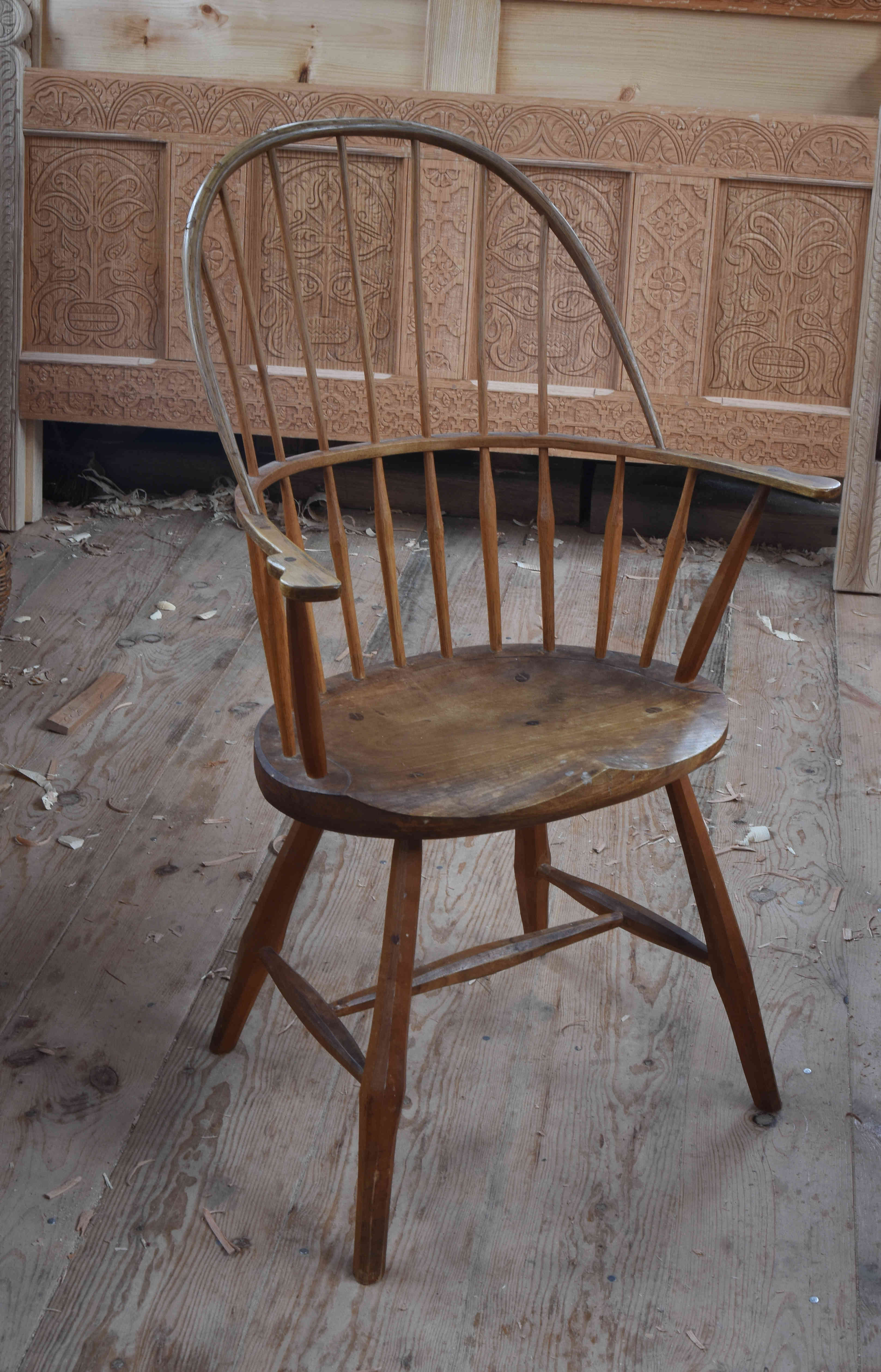 windsor chair | peter follansbee, joiner's notes